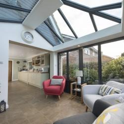 Beautiful Side Extension Interior Ideas