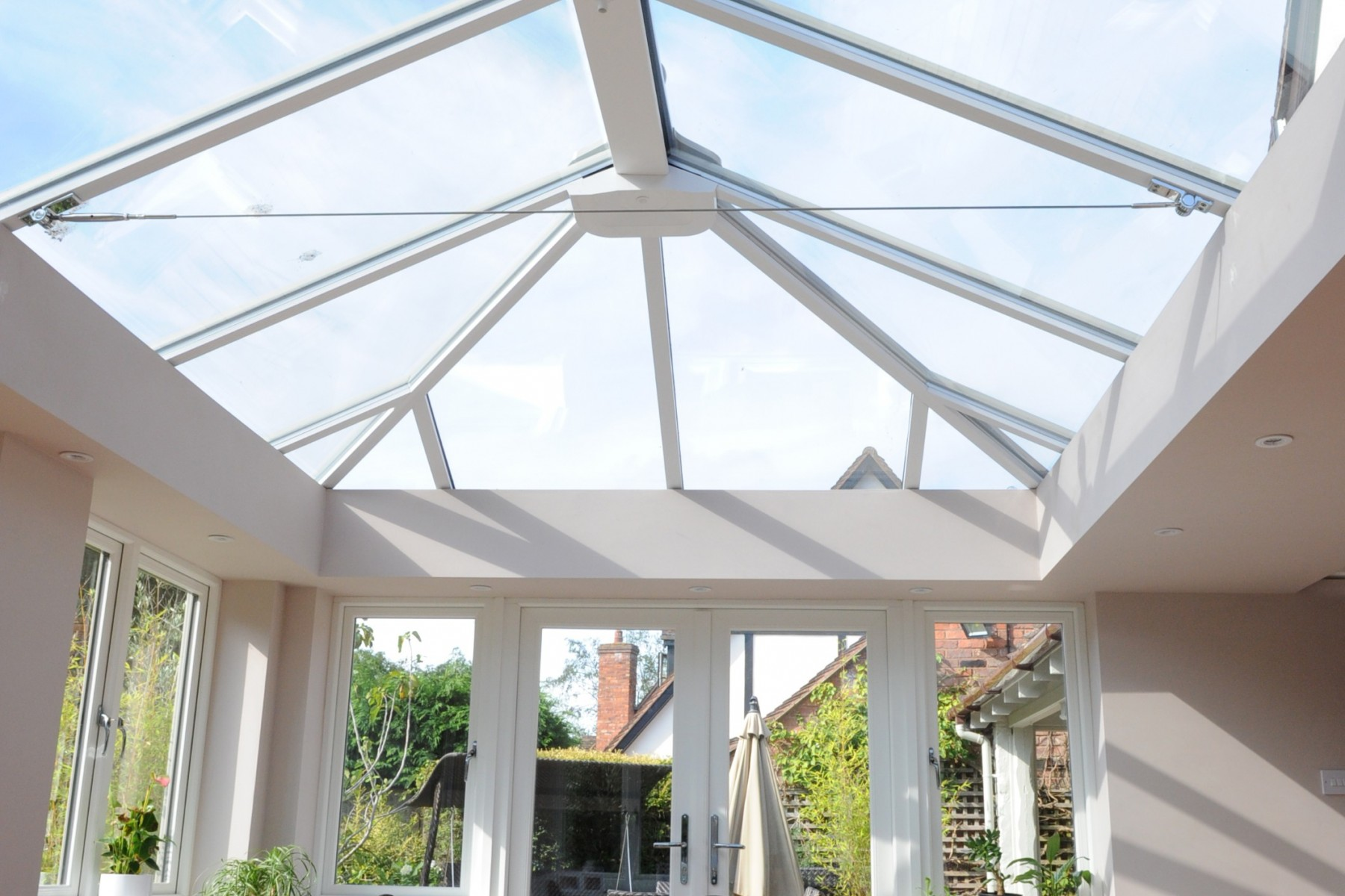Insulated pelmet conservatory insulation ultraframe glass conservatory roof prices mozeypictures Image collections
