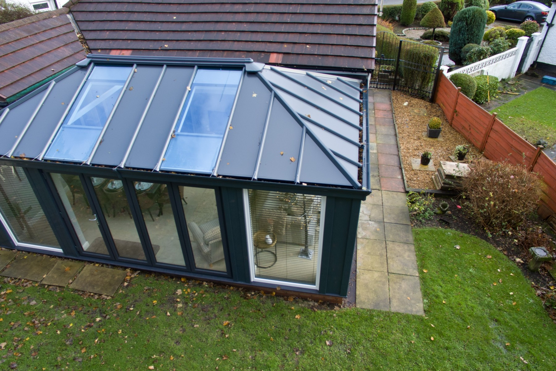 Livinroof Conservatory Roof Hybrid Conservatory Roofs Uk