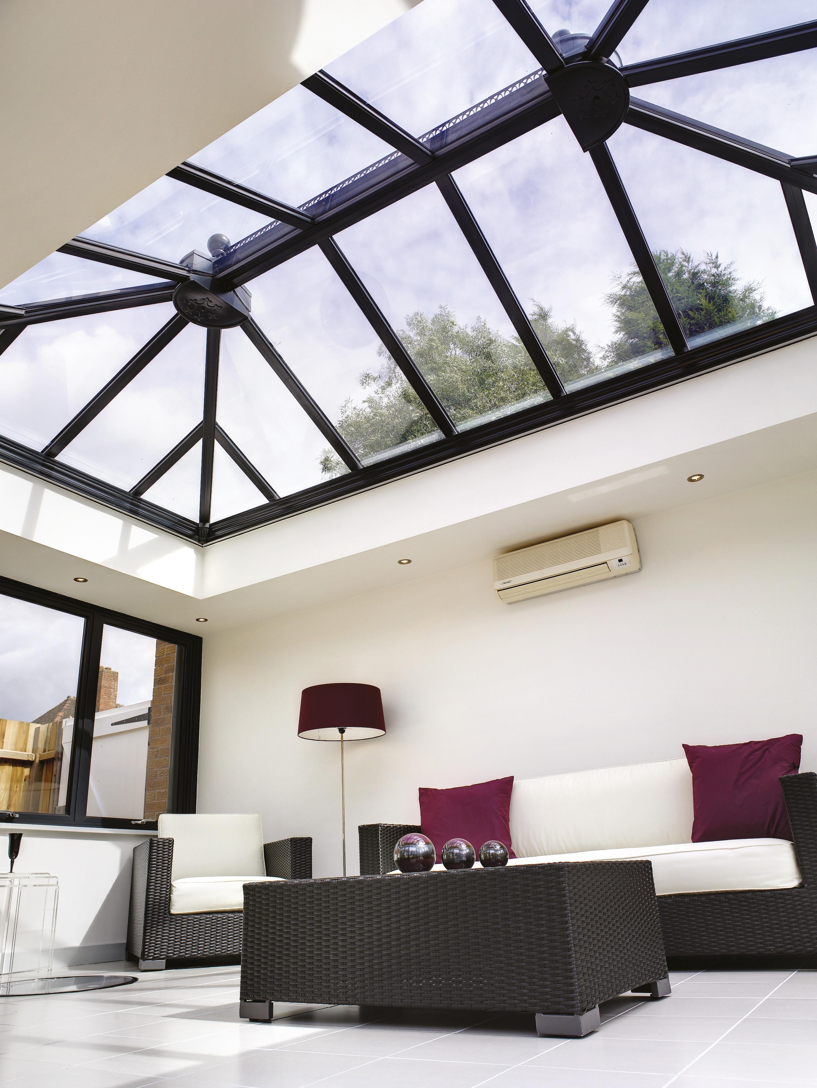 Quantal Atriums Aluminium Roof Lanterns Ultraframe