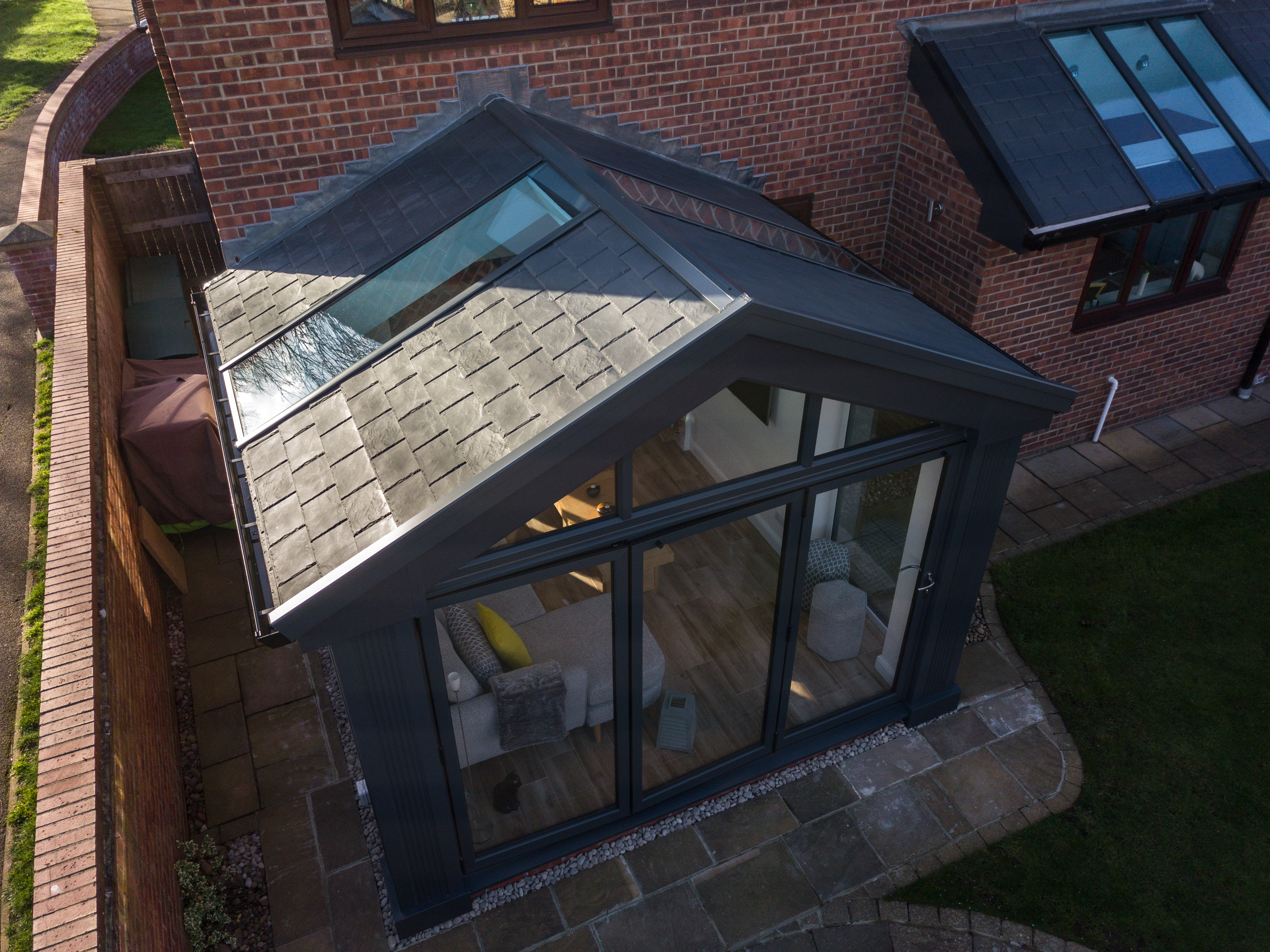 Tiled Conservatory Roof Ultraroof Conservatory Uk