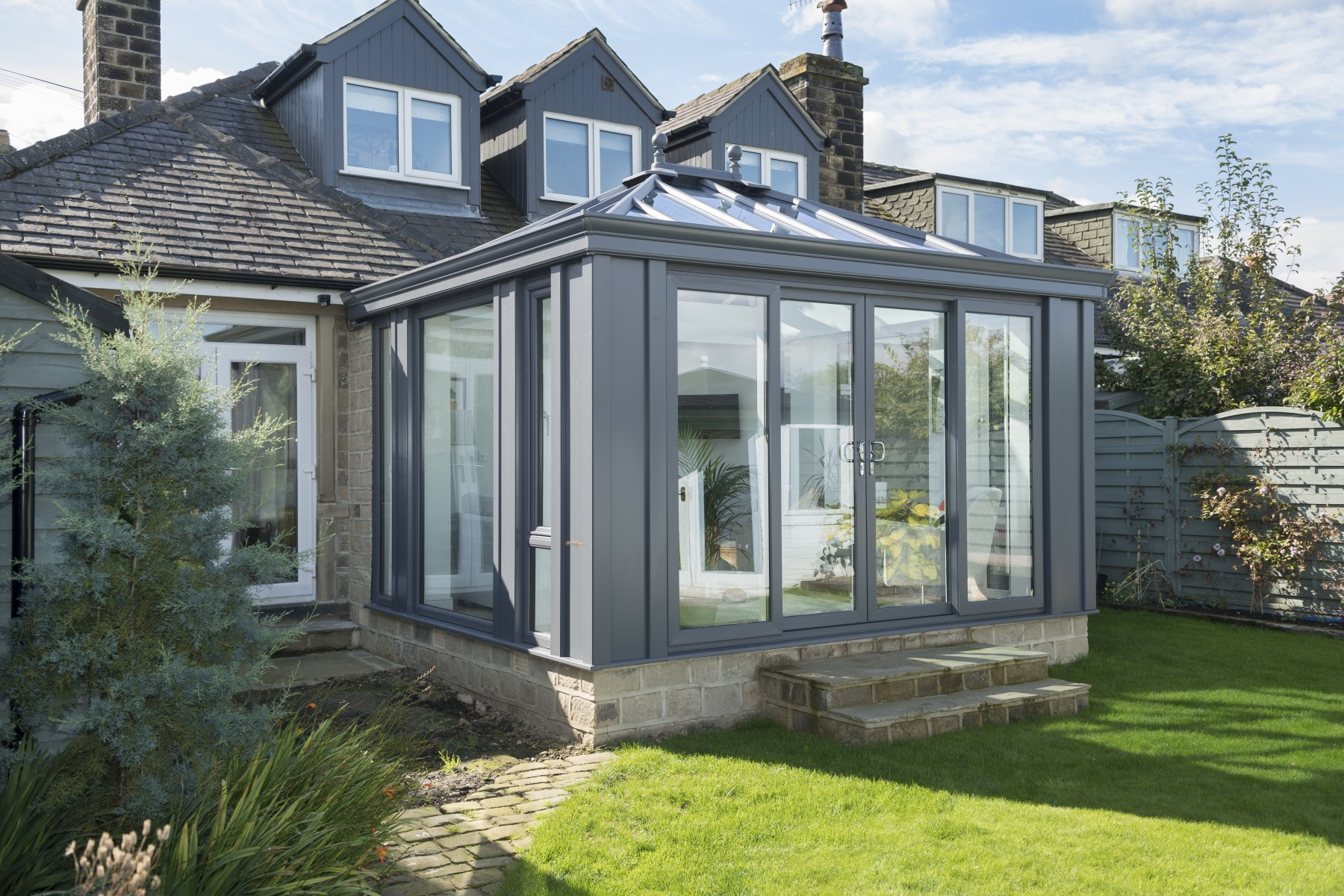 Orangery gallery orangery designs style ideas for House plans with conservatory