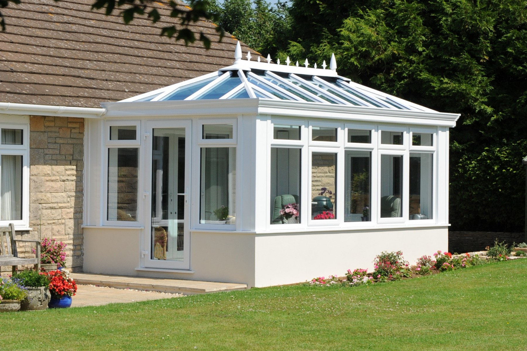 Crestings And Finials Conservatory Accessories Ultraframe