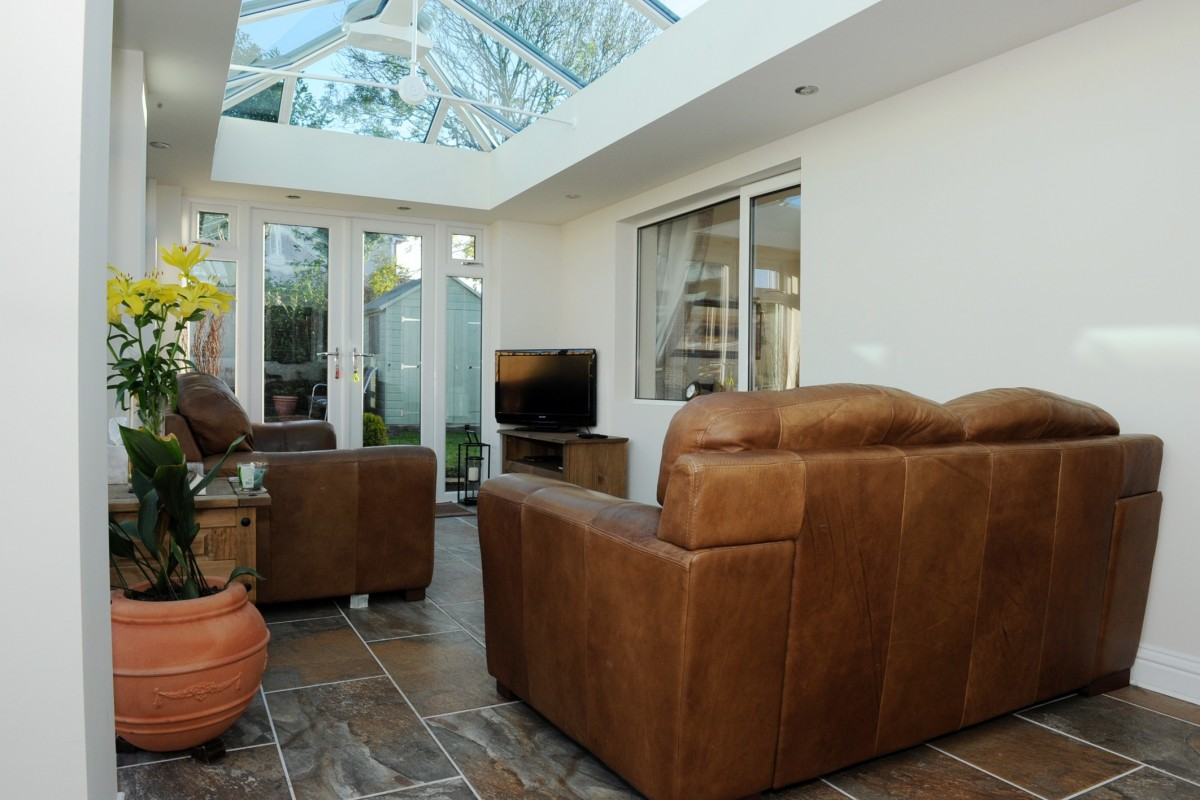 Small Lantern Roof Conservatory