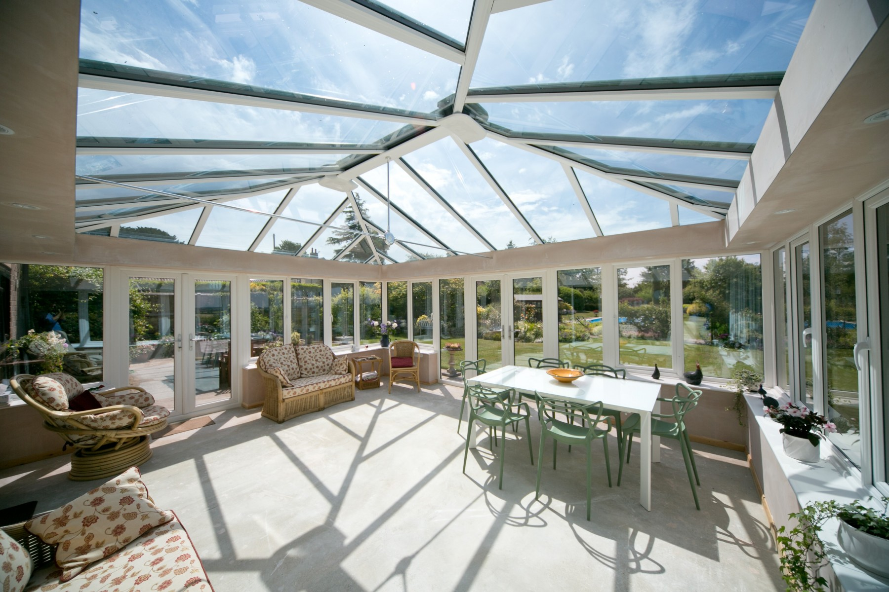 Insulated Pelmet | Conservatory Insulation | Ultraframe
