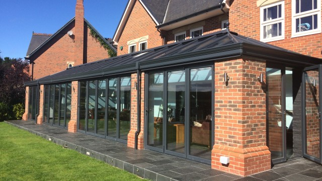 House extensions house extension ideas orangery for Traditional house designs uk