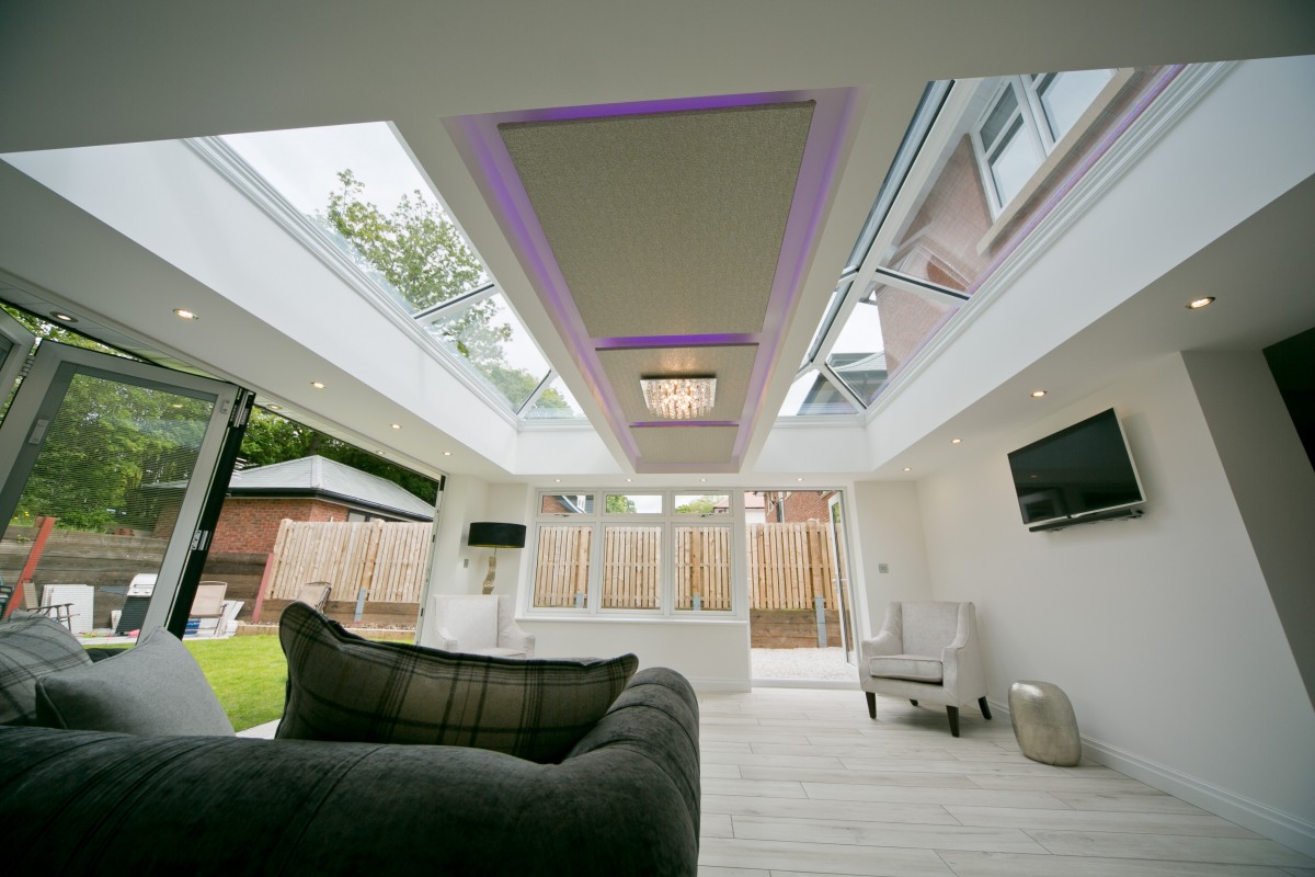 White Lantern Conservatory Roof