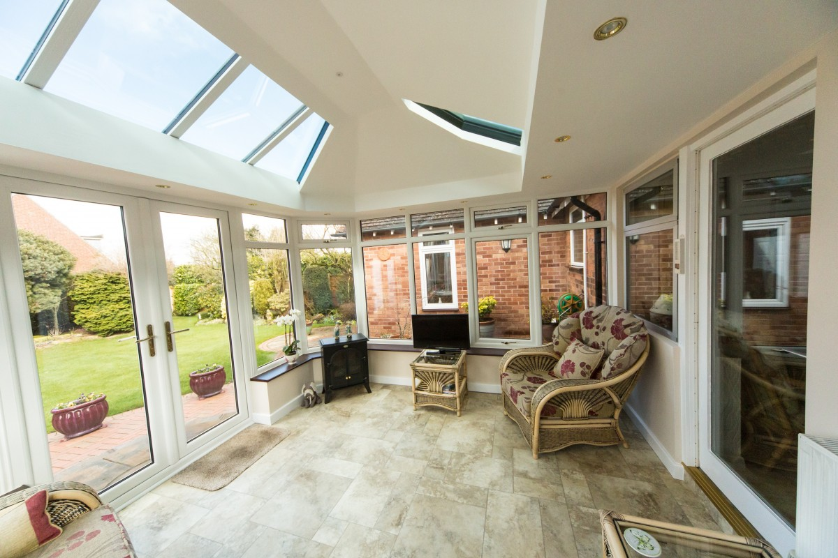 Ultraframe Solid Conservatory Roof