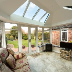 Solid Roof House Extension