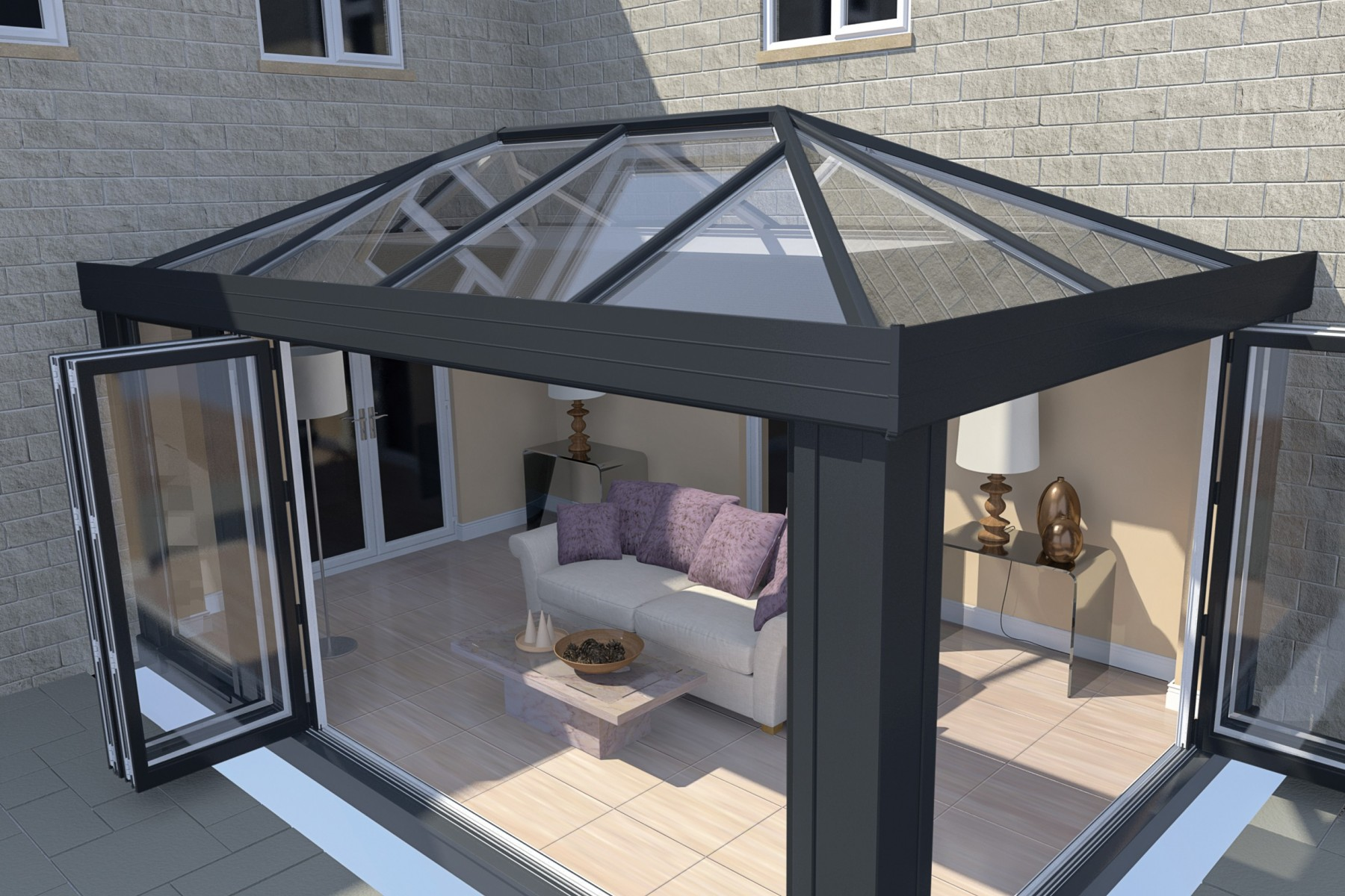 Structural Goal Post | House Extensions | Ultraframe