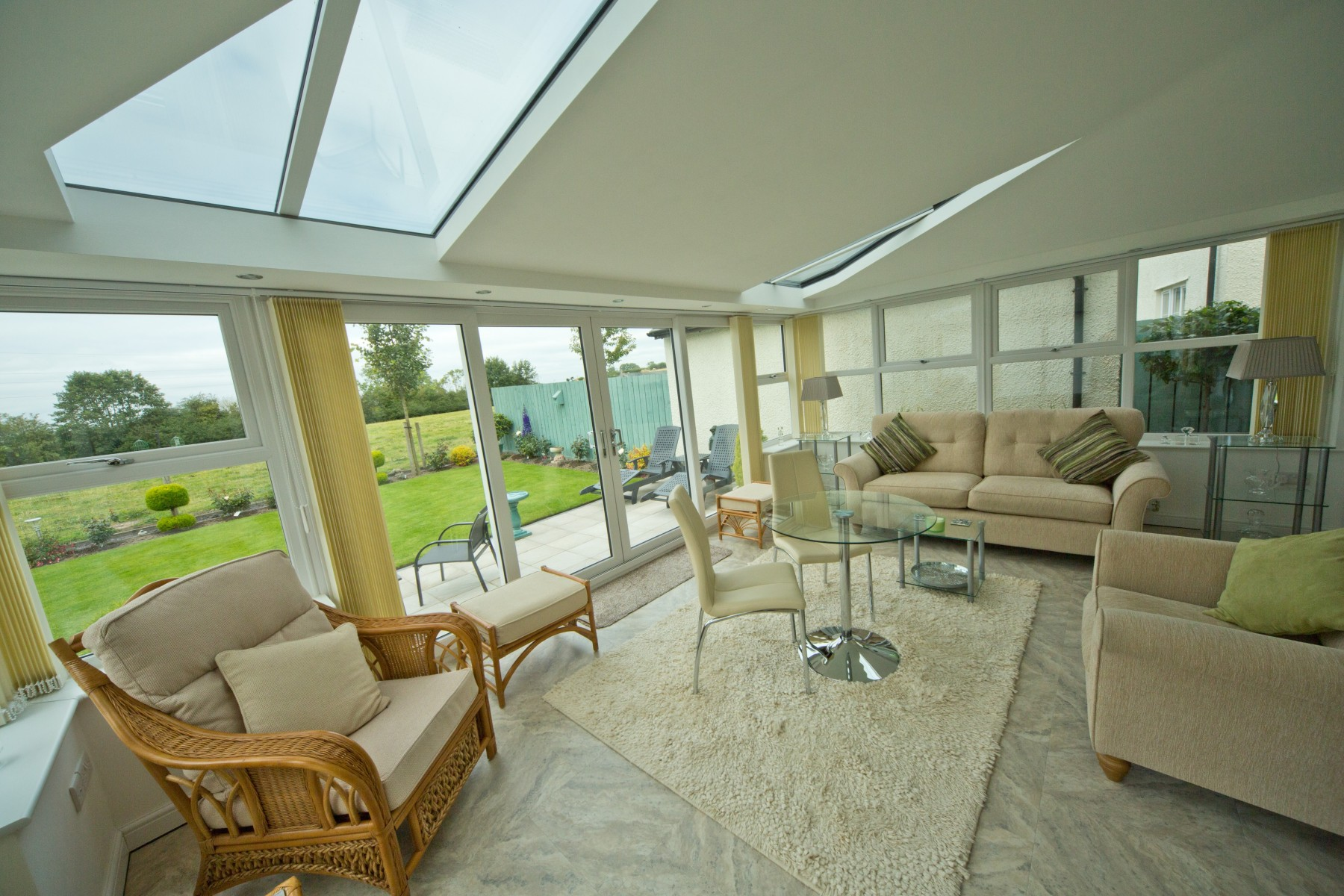 Livinroof Is A Conservatory Roof Style From Ultraframe