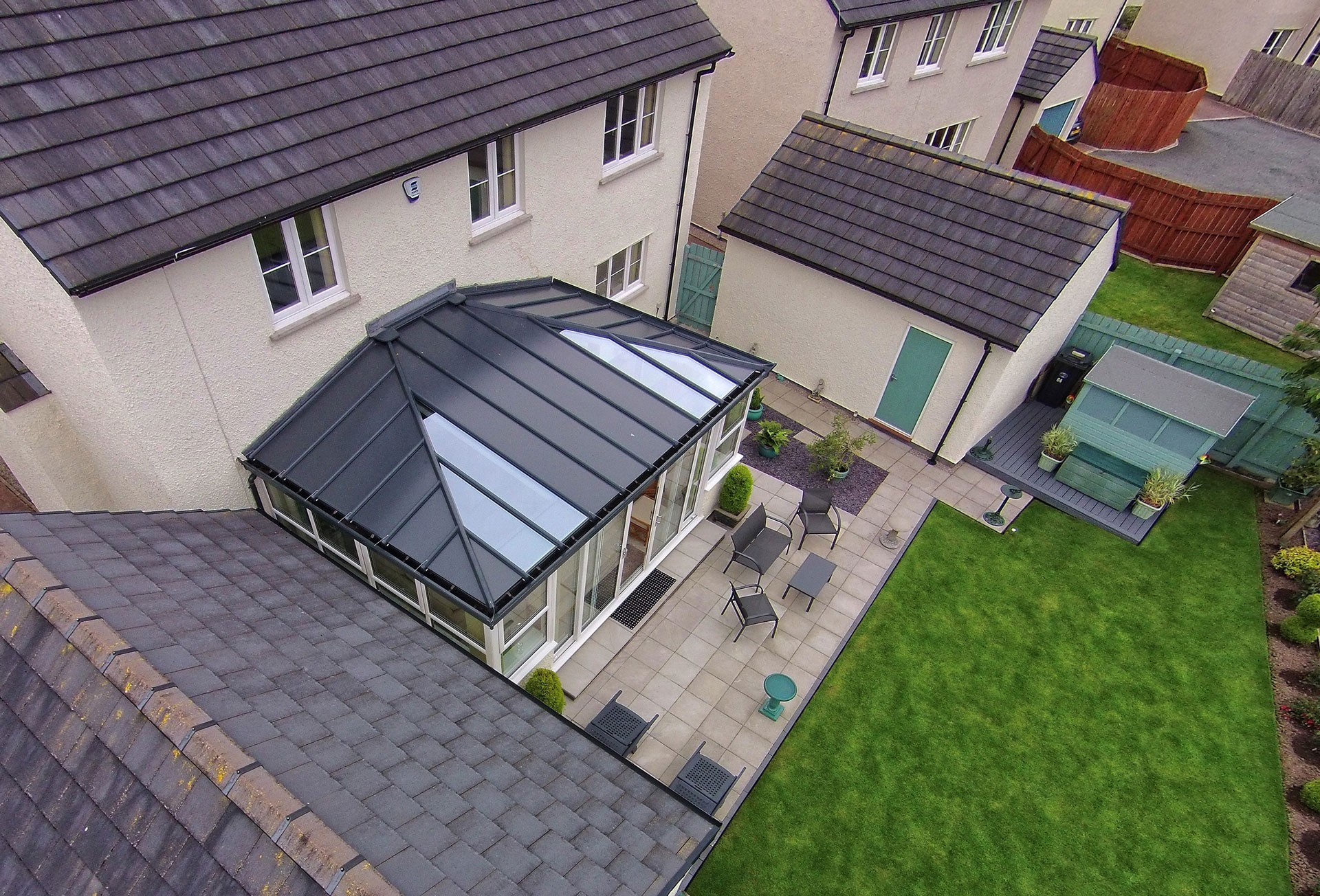 Livinroof Solid Conservatory Roof Ultraframe Trade