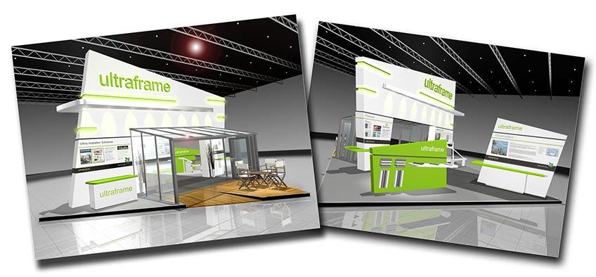 Ultraframe Glassex 2010 stand