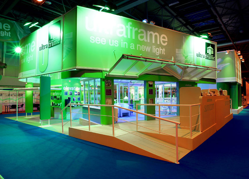 Ultraframe Glassex stand