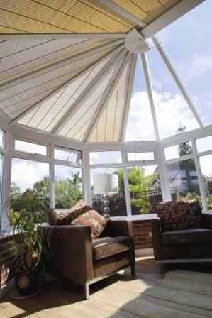 Ultraframe Classic Plus conservatory with Shades