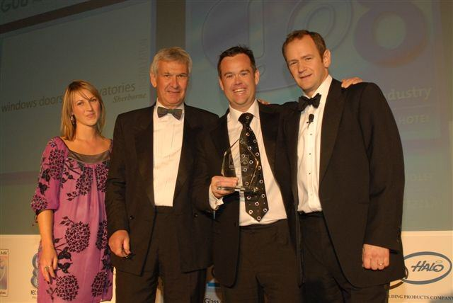 Sherborne receive the award for UK Conservatory Installer of the Year