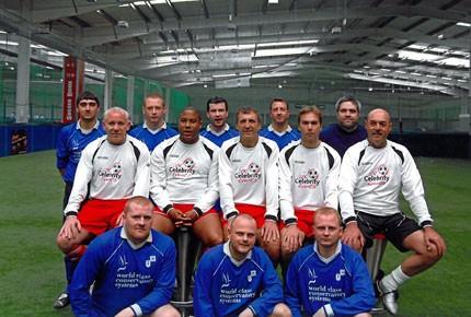 Ultraframe football team vs The Legends