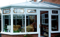 Ultraframe victorian conservatory