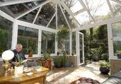 Ultraframe conservatory