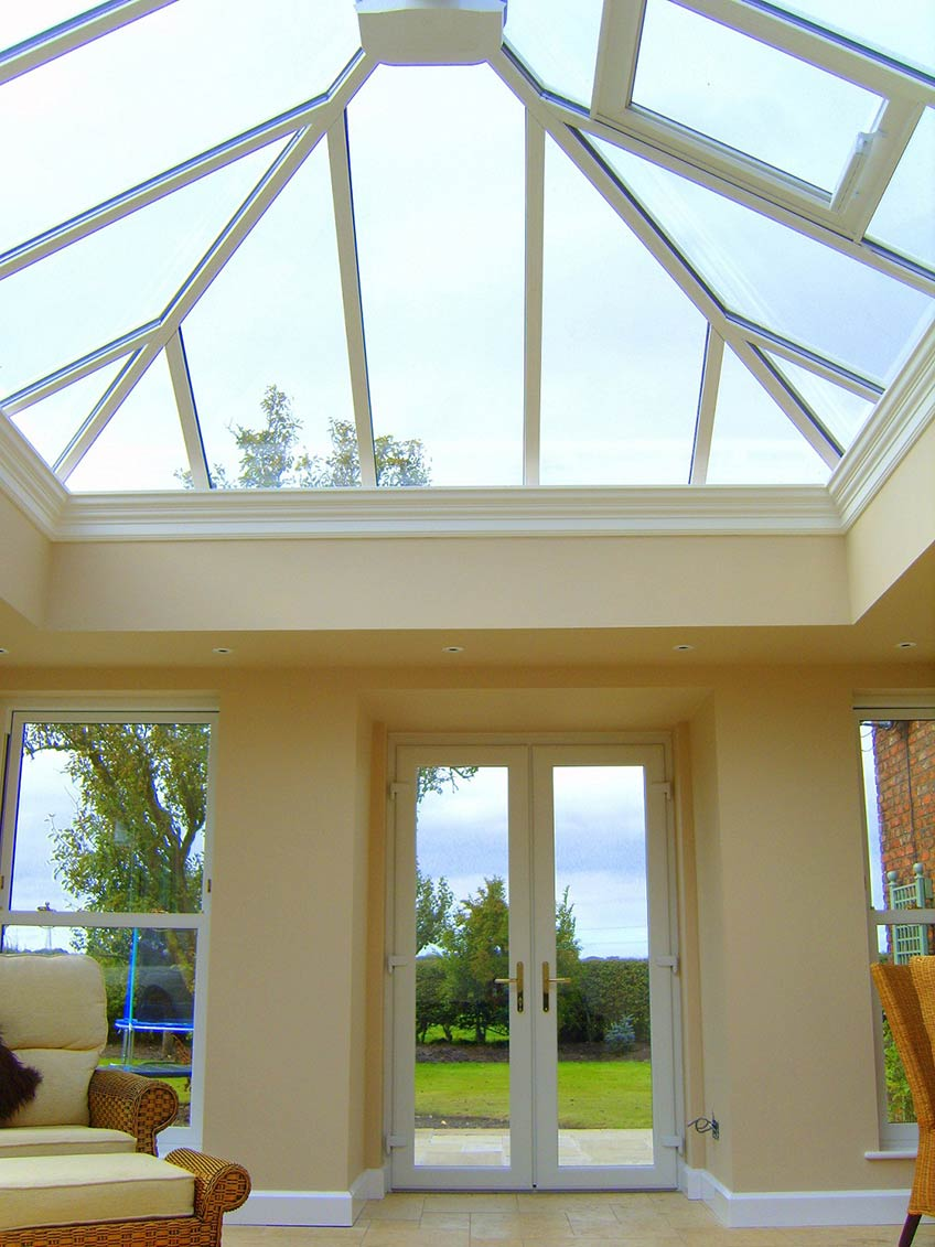 Ultraframes Orangery conservatory system